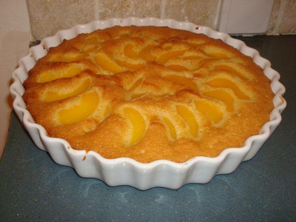 עוגת פירות קלה