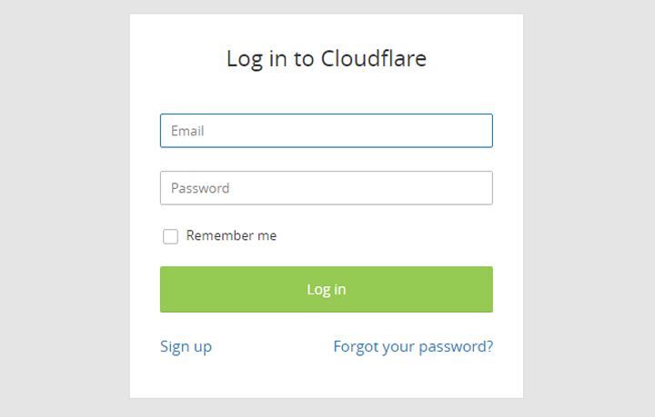 How to setup blog domain in Cloudflare