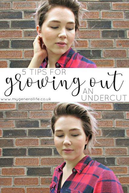 5 Tips for Growing Out an Undercut - growing out an undercut can be a total pain, so today I'm sharing some of the tips and tricks I've learnt whilst growing out mine.