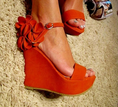 Zapatos rojos juveniles