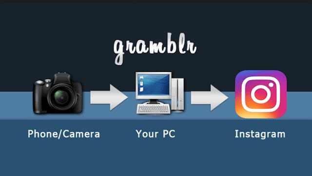 نحميل برنامج Gramblr لرفع ومشاركة الصور على انستقرام من الكمبيوتر