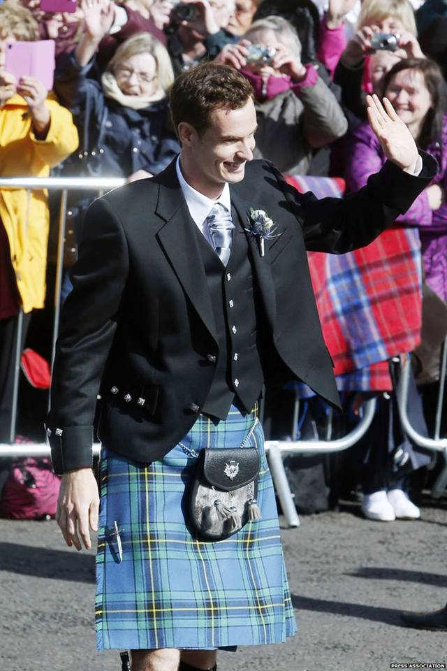 Andy Murray and Kim Sears Wedding Photographs