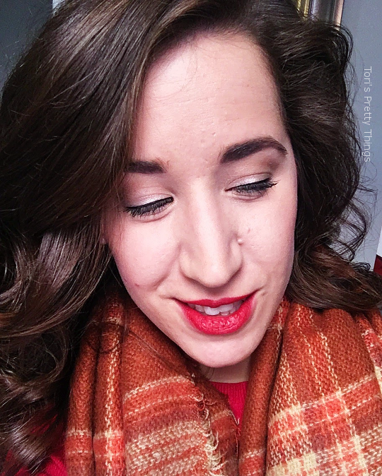 Tori's Pretty Things // Red Lips Makeup Look