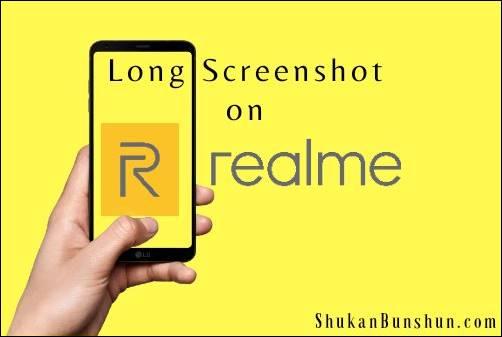 Cara Screenshot Panjang Semua HP Realme Tipe Long SS