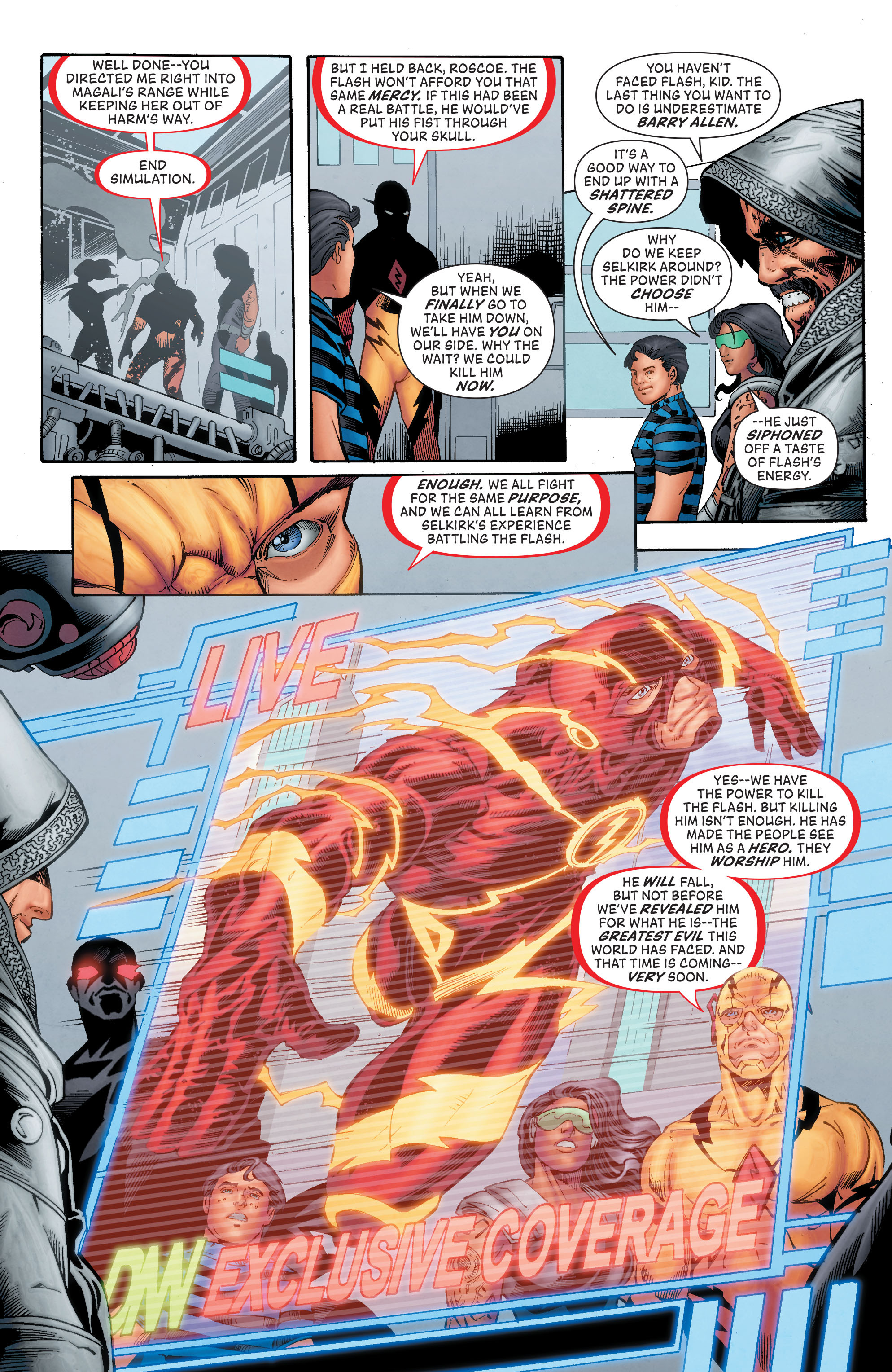 Read online The Flash (2011) comic -  Issue # Annual 4 - 30