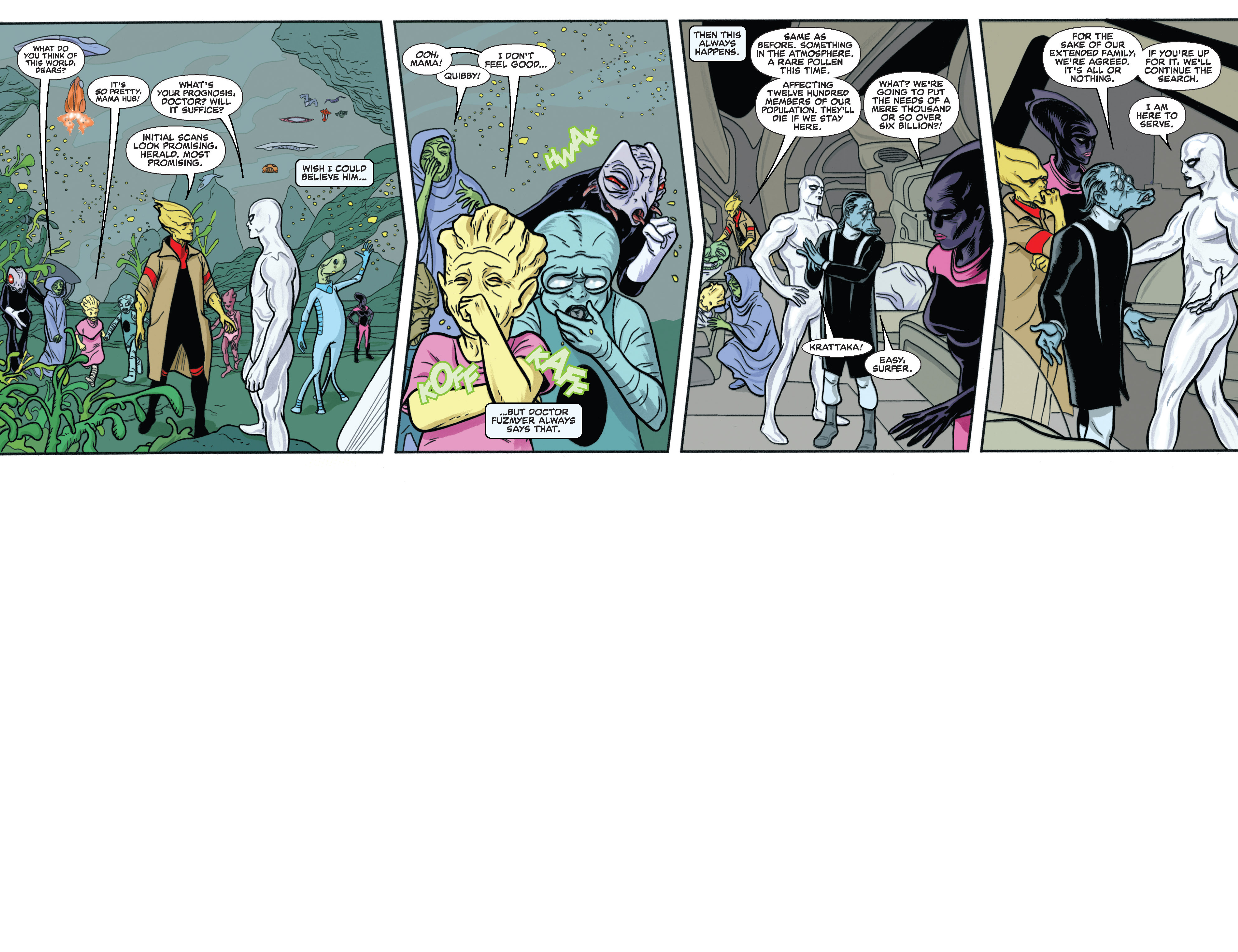 Read online Silver Surfer (2014) comic -  Issue #11 - 4