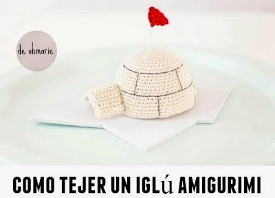 Iglu amigurimi en crochet tutorial