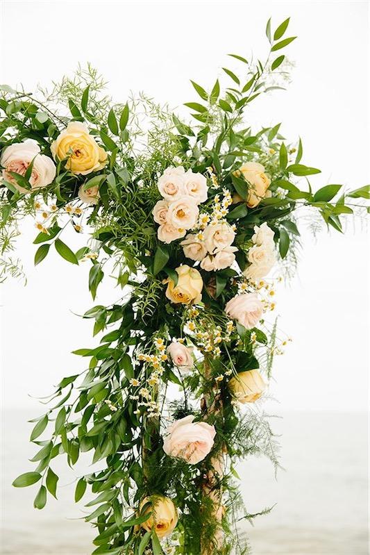 detalle floral para boda chicanddeco