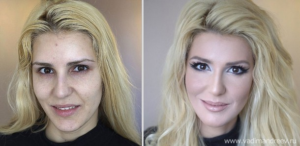 Makeup Transformations by Vadim Andreev
