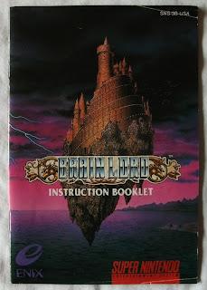 Brain Lord - Manual portada