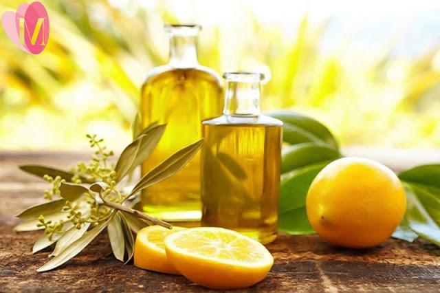 Cách trị mụn bằng dầu oliu và chanh