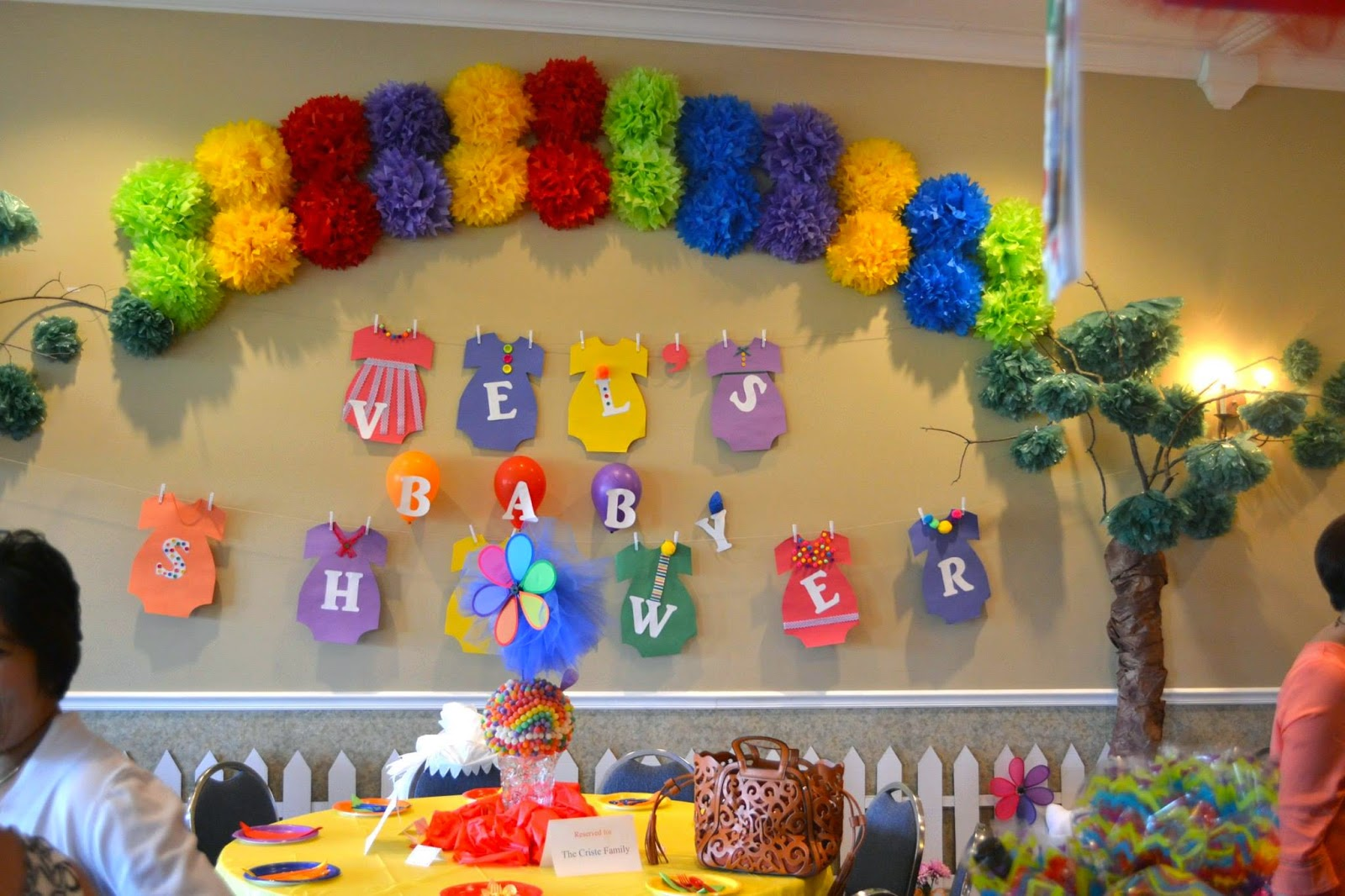 Life & Home at 2102: Our RAINBOW Baby Shower