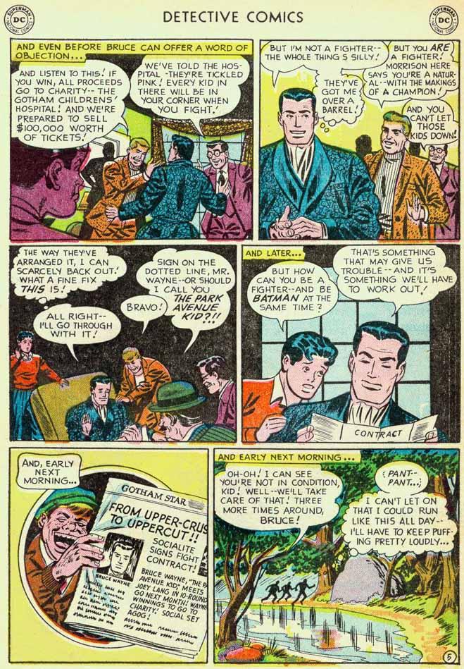 Read online Detective Comics (1937) comic -  Issue #174 - 7