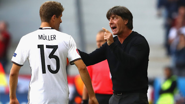 Germany Joachim Low and Muller