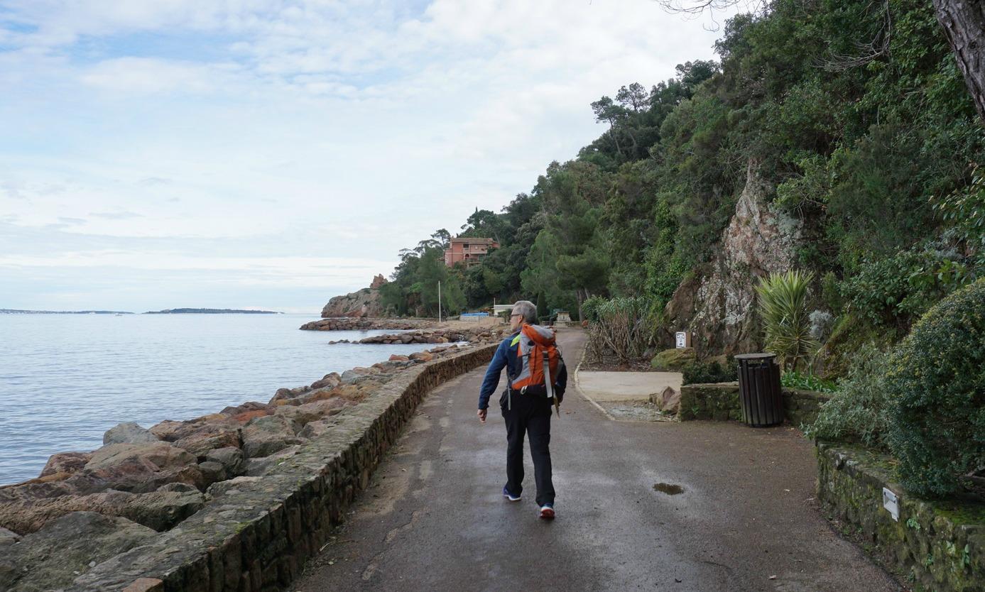 Promenade Pradayrol Théoule-sur-Mer