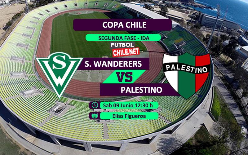 Mira Santiago Wanderers vs Palestino en vivo y online por la Copa Chile 2018