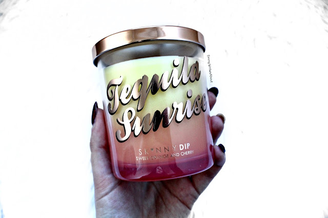 Skinny Dip Tequila Sunrise Candle