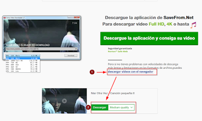 Descargar videos de YouTube sin programas externos