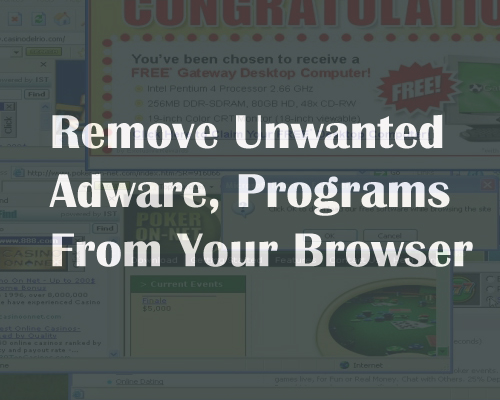 Remove Unwanted Programs
