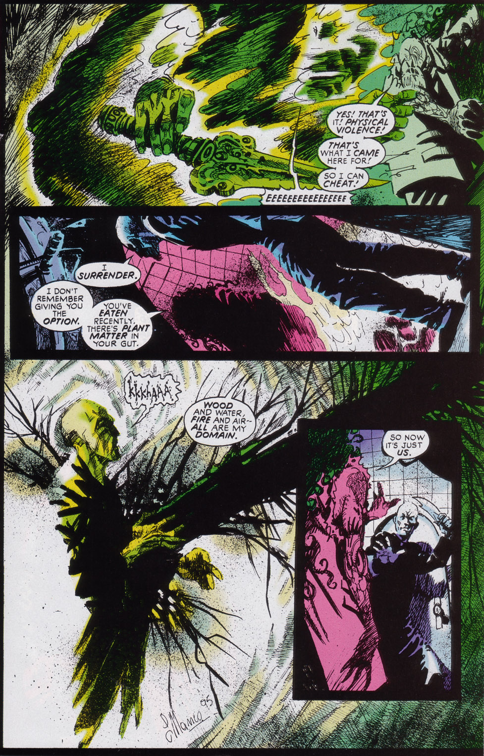 Read online Druid comic -  Issue #3 - 16