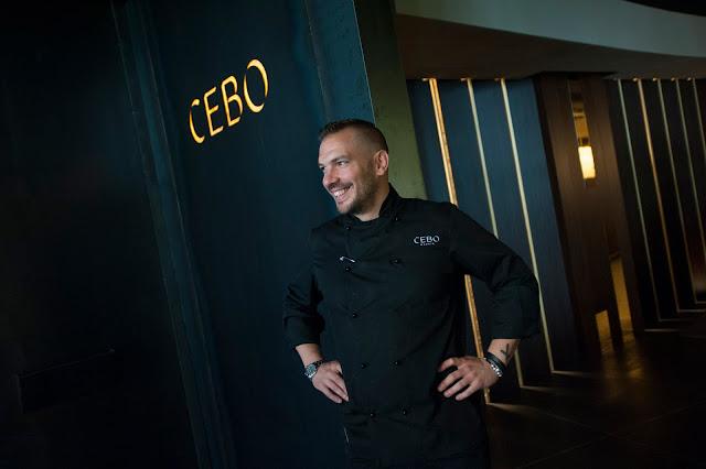 CEBO restaurante, Aurelio Morales