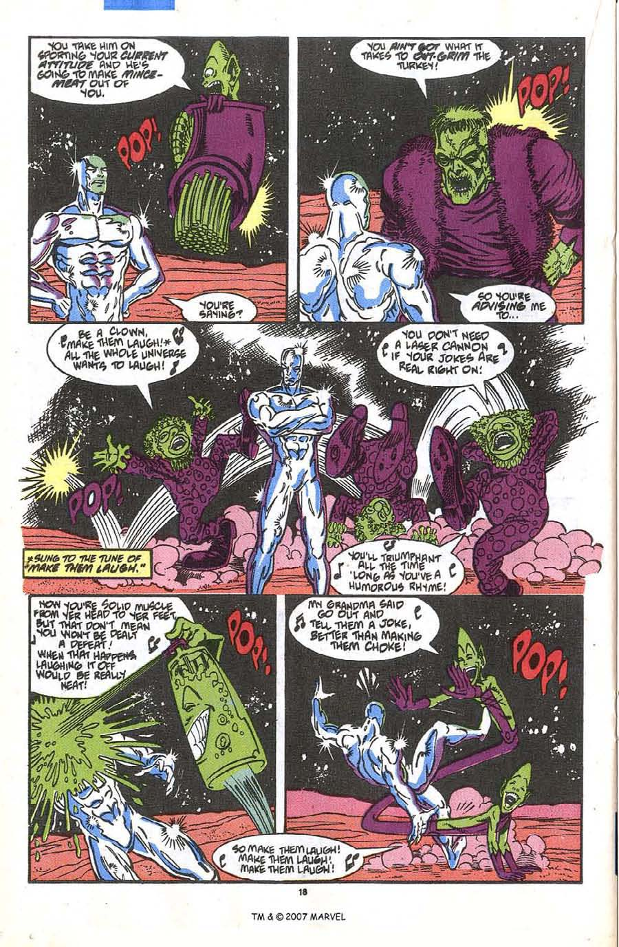 Read online Silver Surfer (1987) comic -  Issue #36 - 20