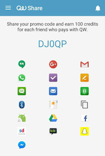 quickwallet referral code