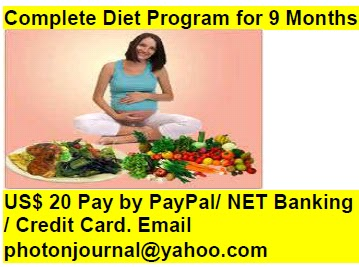 Complete Diet Program for 9 Months pregnancy book
