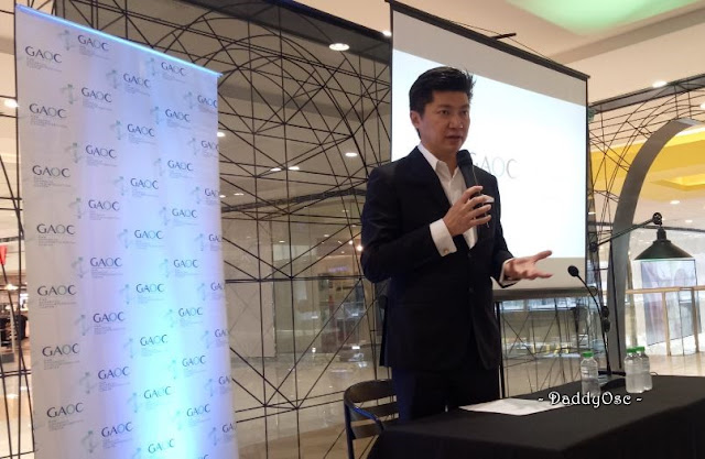 GAOC SM Megamall Branch with Dr. Ste Mark Gan, President and CEO