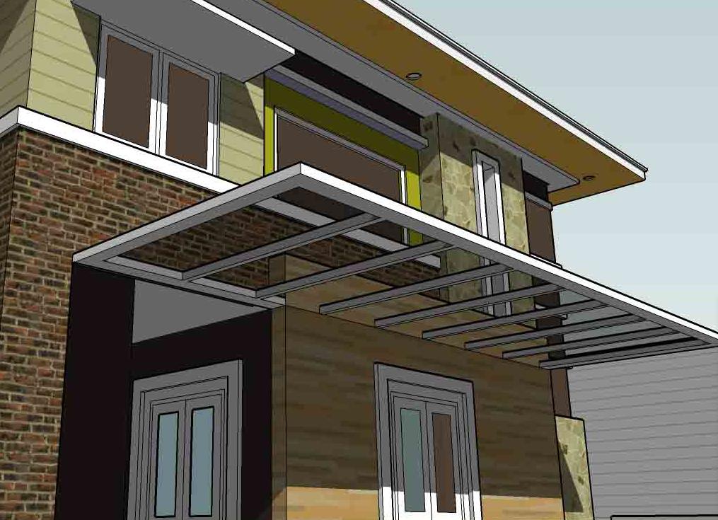 canopy baja ringan tanpa tiang 48 inspirasi penting kanopi teras