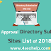 Free High PR/DA Directory Submission List 2018