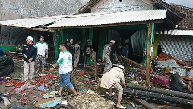 Update Terbaru, Korban Tsunami Selat Sunda Capai 429 Jiwa