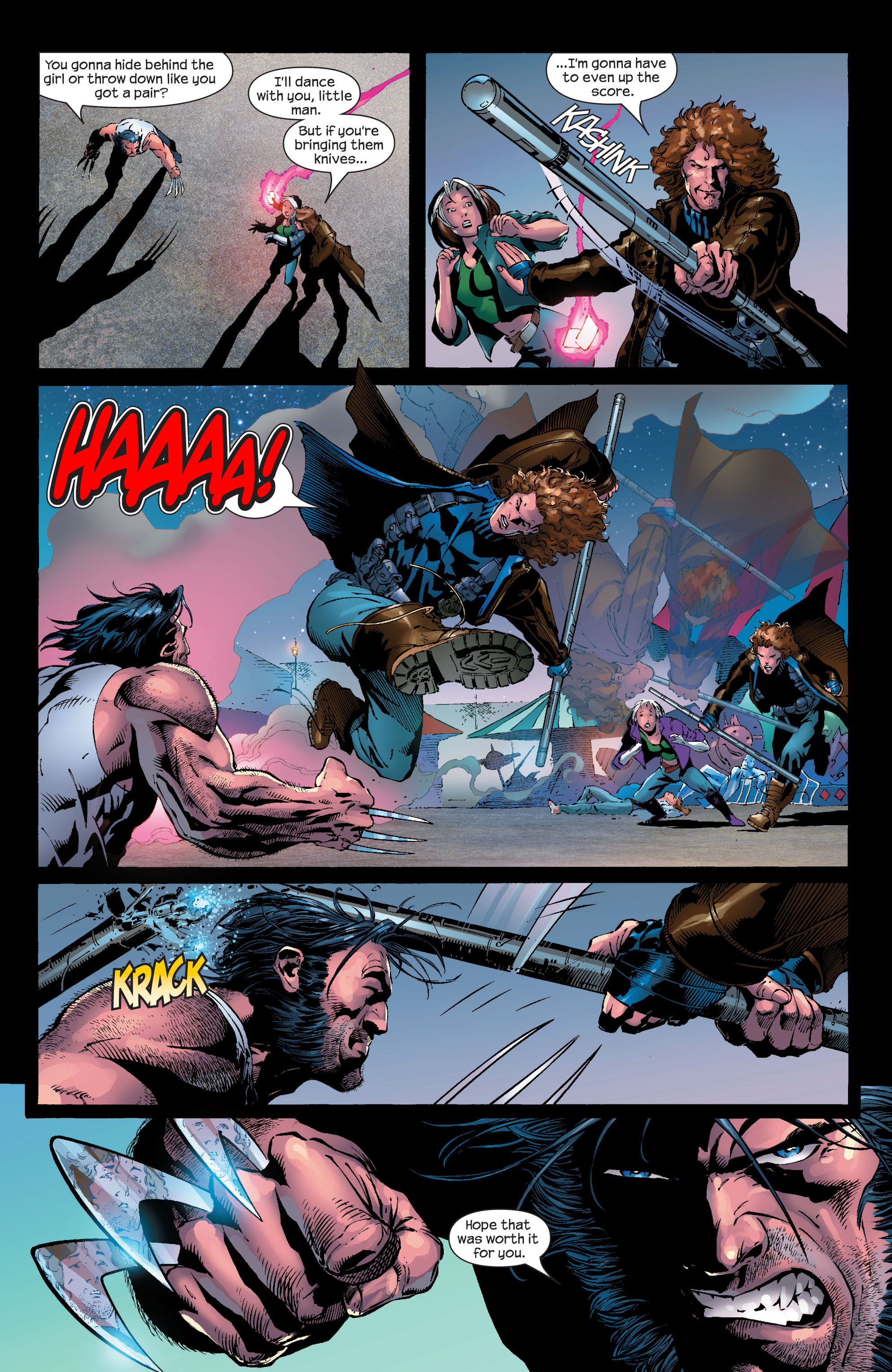 Read online Ultimate X-Men comic -  Issue #50 - 21