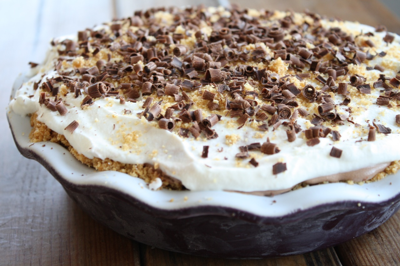 Ice Cream Pie Graham Cracker Crust