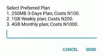 Affordable mtn data plan