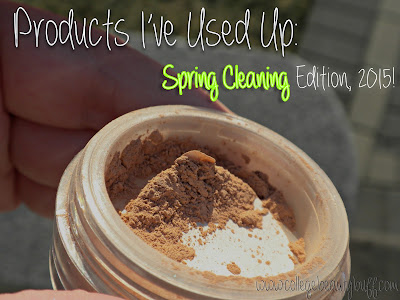Products I've Used Up: Spring Cleaning Edition, 2015