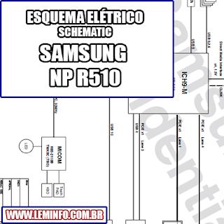 Esquema Elétrico Notebook Laptop Samsung NP R510 Manual de Serviço  Service Manual schematic Diagram Notebook Laptop Samsung NP R510    Esquematico Notebook Laptop Samsung NP R510
