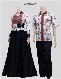 Model Baju Batik Couple Remaja Atasan