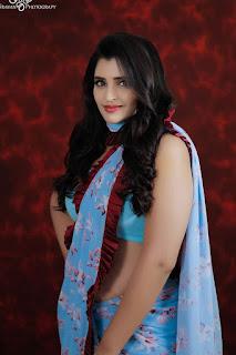 Anchor shyamala Latest saree photoshoot