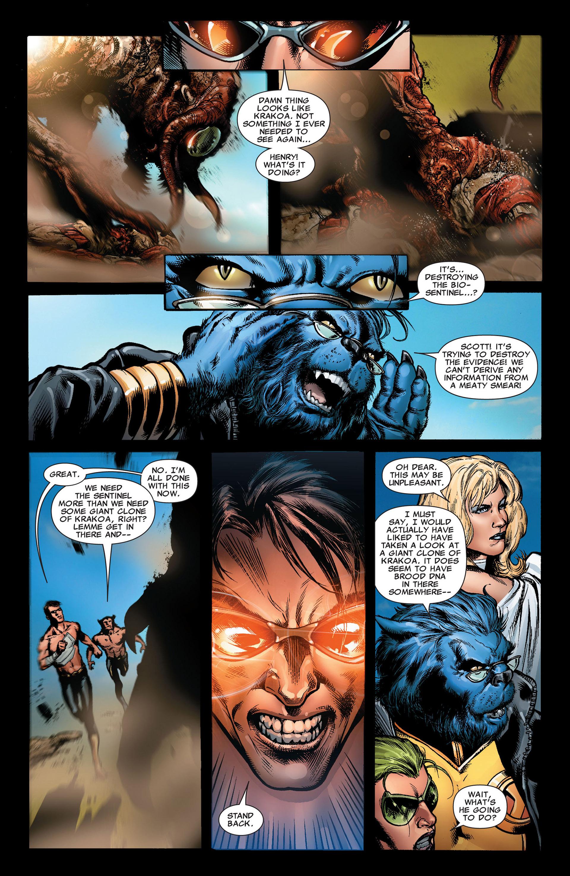 Read online Astonishing X-Men (2004) comic -  Issue #33 - 10