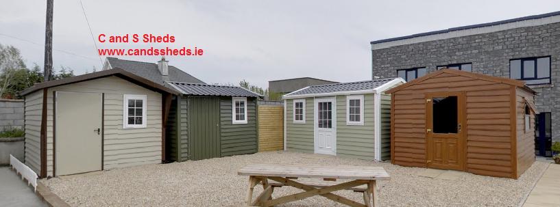 metal and steel garden sheds manufacturer tullamore ireland