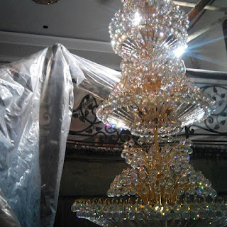 jasa cuci lampu kristal bandung