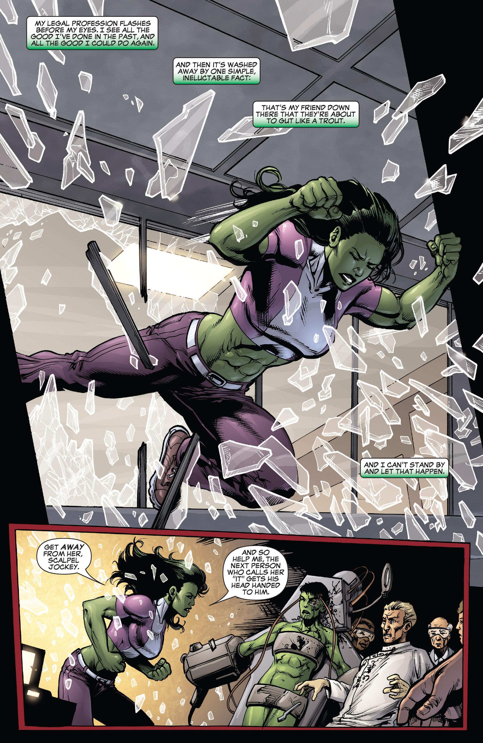 Read online She-Hulk (2005) comic -  Issue #38 - 20