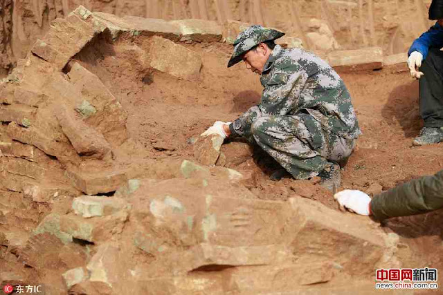 Song Dynasty tomb unearthed in Xinjiang