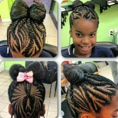 Black baby hairstyles for short hair | Babyallshop.blogspot.com