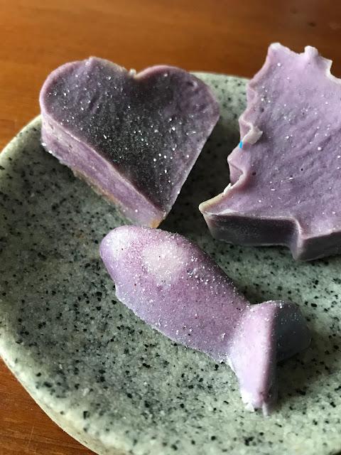 Seife selber machen aus Kernseife - die fertige Seife nach dem Trocknen