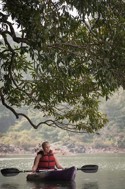 Kayaking on Kali; Dandeli, Karnataka, India