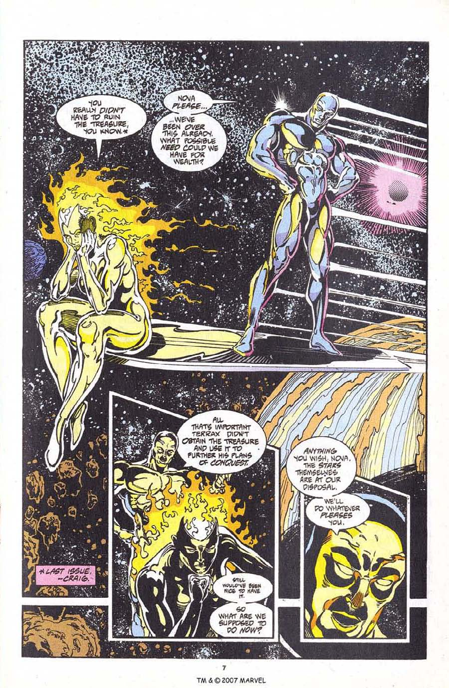 Read online Silver Surfer (1987) comic -  Issue #98 - 9