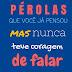 PÉROLAS QUE VOCÊ JÁ PENSOU: mas nunca teve coragem de falar (Reflexões Livro 1) - AlexSandro Martins, Carol Martins, Luísa Martins