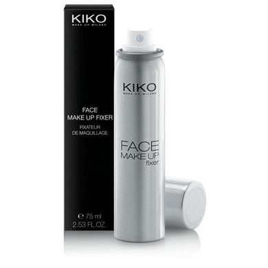 kiko make up milano face make up fixer fixador maquiagem